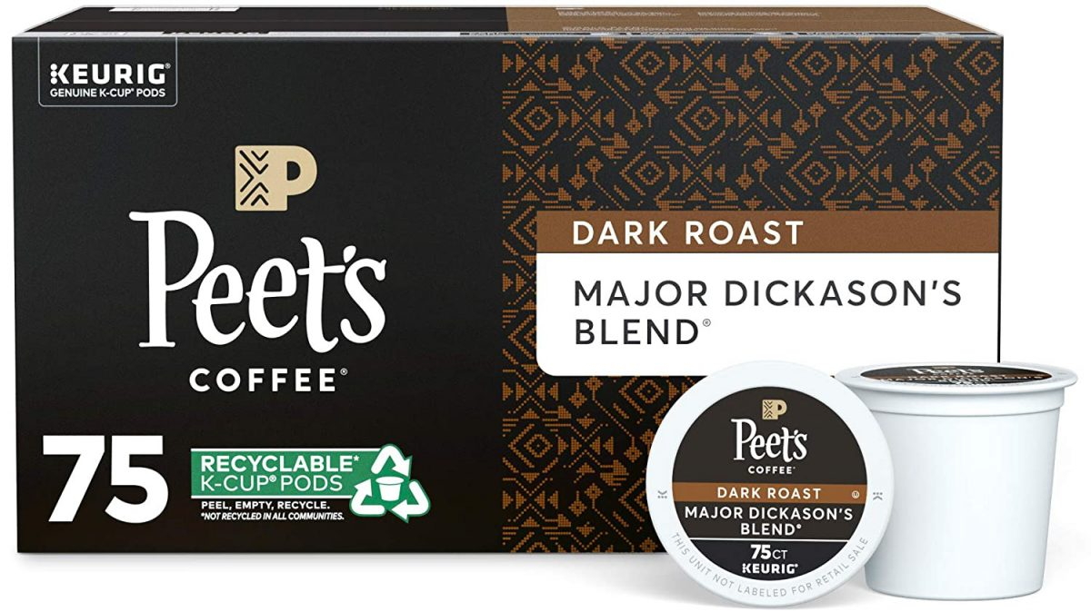 Peet's Coffee Single Serve K-Cup Coffee Pods_edited