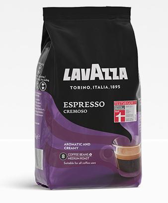 lavazza beans espresso cremoso